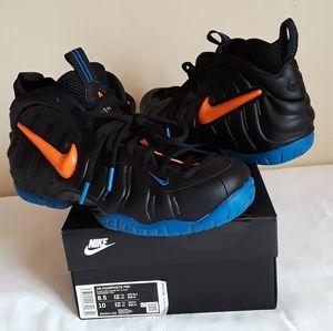 New Men's Nike Air Foamposite Blk Total Org Sz 8.5